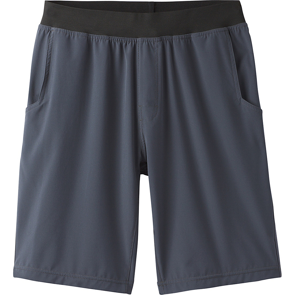 PrAna Super Mojo Short S - Coal - PrAna Mens Apparel - Apparel & Footwear, Men's Apparel