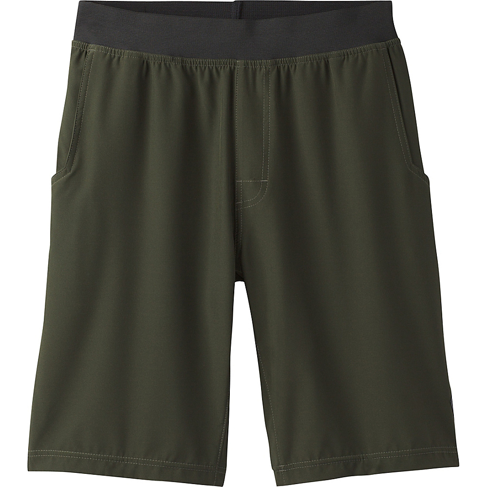 PrAna Super Mojo Short M - Dark Olive - PrAna Mens Apparel - Apparel & Footwear, Men's Apparel