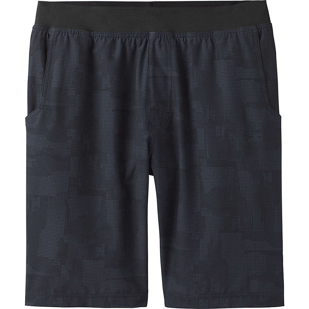 PrAna Super Mojo Short XL - Black Griddle - PrAna Mens Apparel - Apparel & Footwear, Men's Apparel