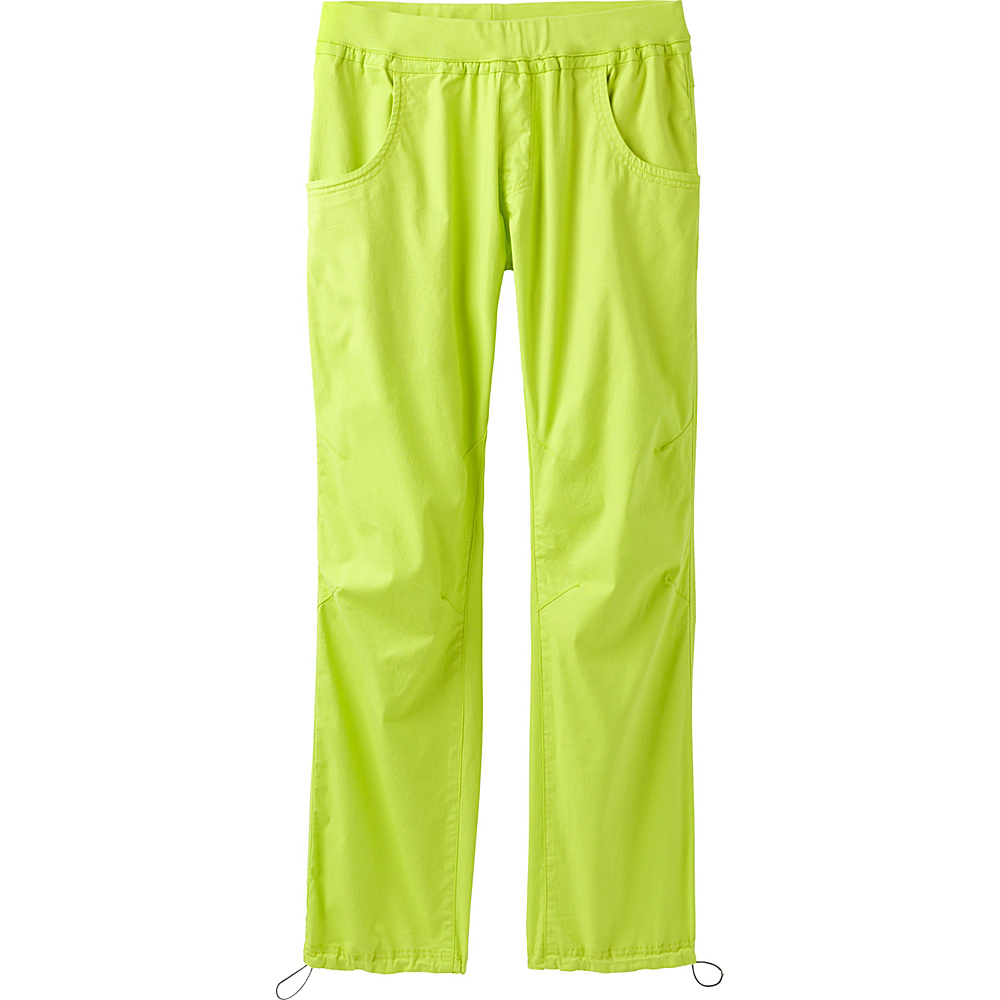 PrAna Zander Pant L - Electric Lime - PrAna Mens Apparel - Apparel & Footwear, Men's Apparel