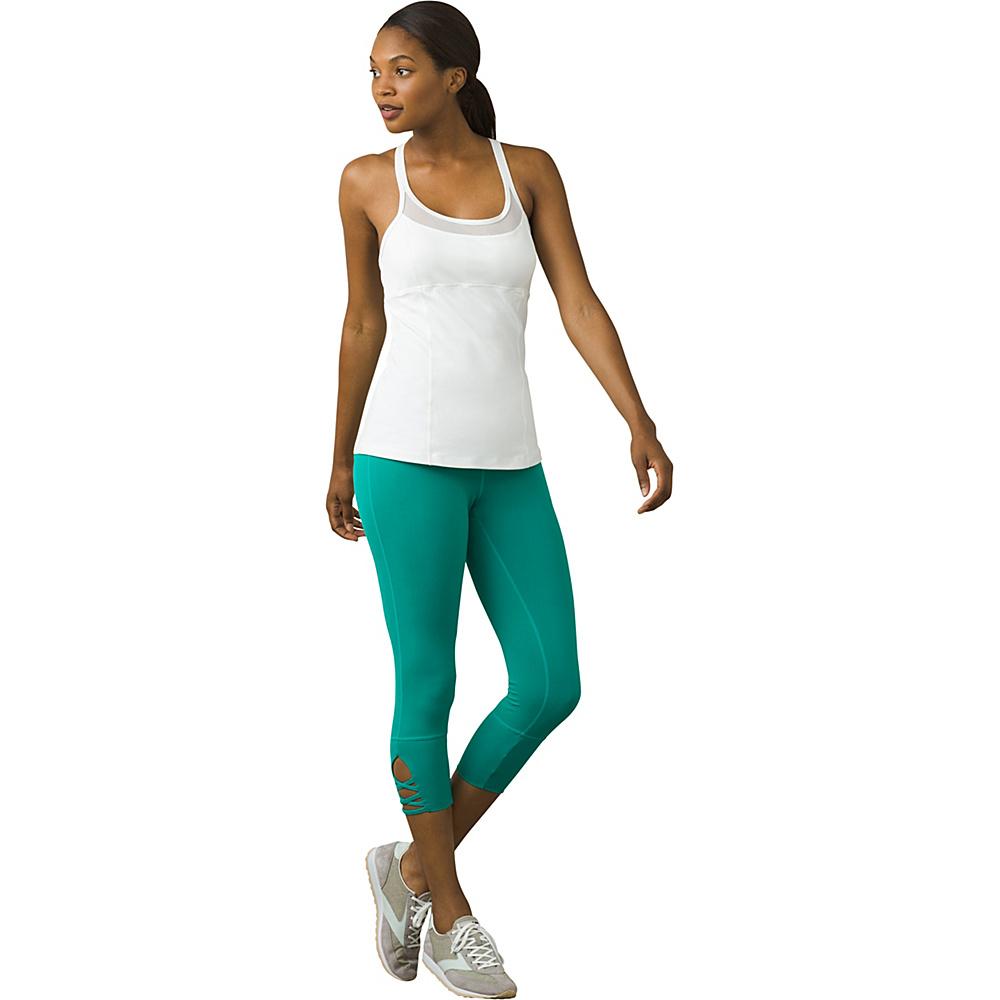 PrAna Nile Top M - White - PrAna Womens Apparel - Apparel & Footwear, Women's Apparel