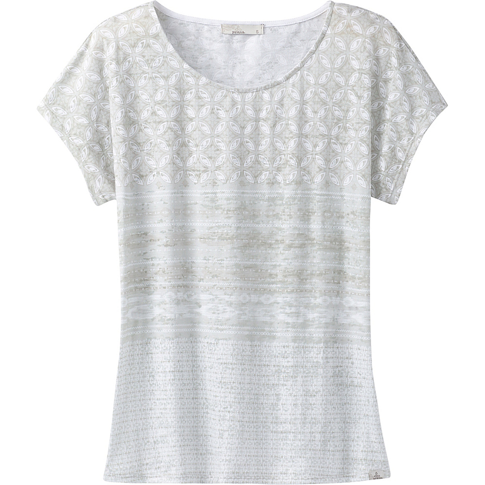 PrAna Harlene Top S - Cobblestone Milos - PrAna Womens Apparel - Apparel & Footwear, Women's Apparel