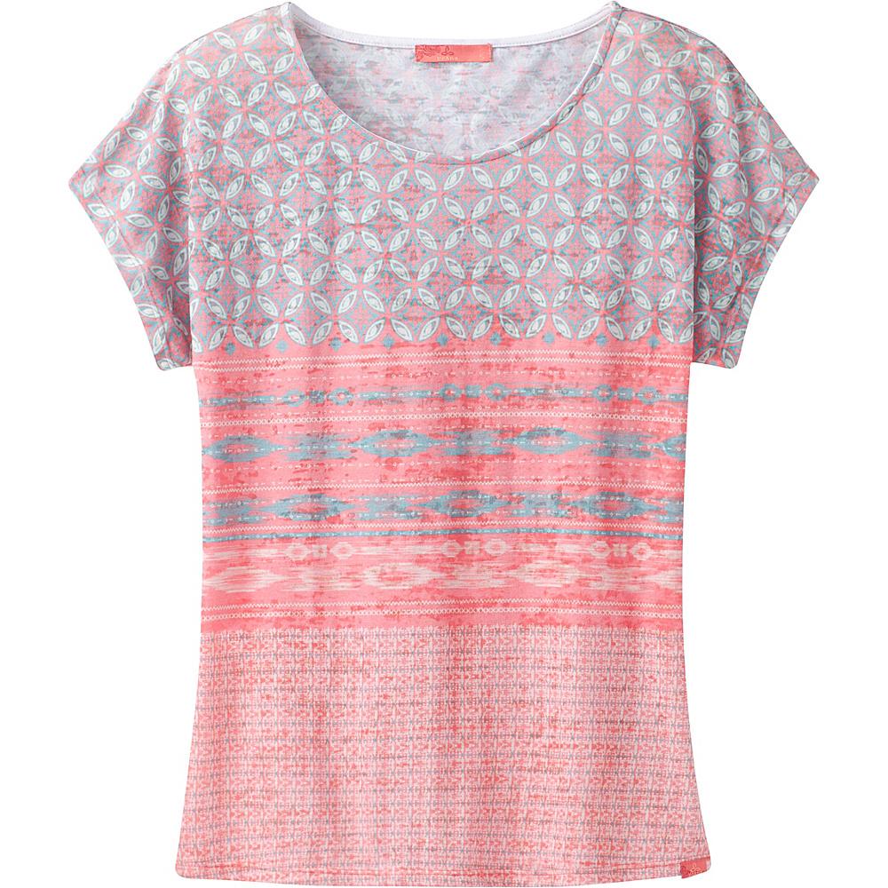 PrAna Harlene Top M - Summer Peach Milos - PrAna Womens Apparel - Apparel & Footwear, Women's Apparel