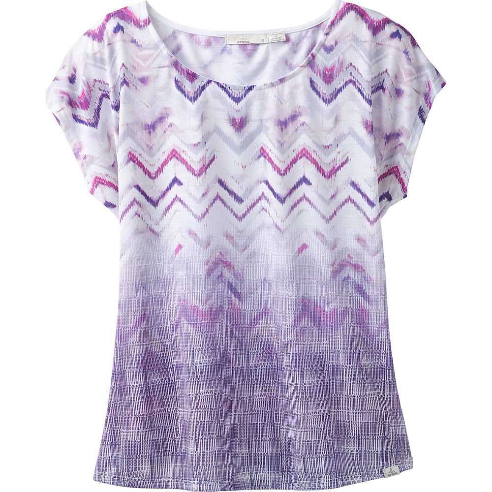PrAna Harlene Top M - Amethyst Melody - PrAna Womens Apparel - Apparel & Footwear, Women's Apparel