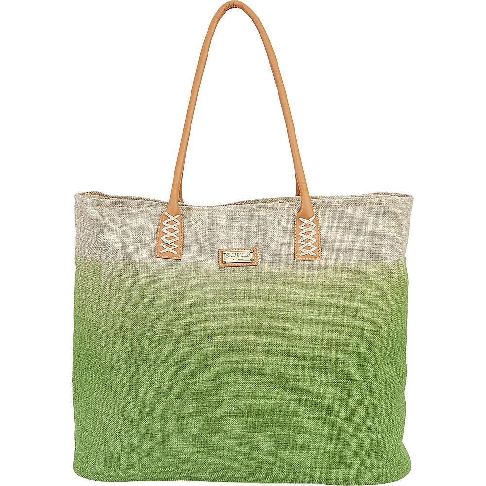 Sun N Sand Beach Bound Beach Canvas Tote Lime - Sun N Sand Fabric Handbags - Handbags, Fabric Handbags