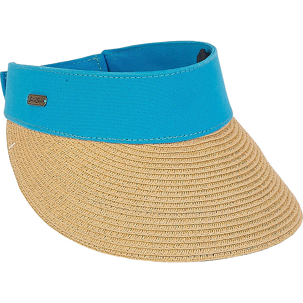 Sun N Sand Visor E-Turquoise - Sun N Sand Hats/Gloves/Scarves - Fashion Accessories, Hats/Gloves/Scarves