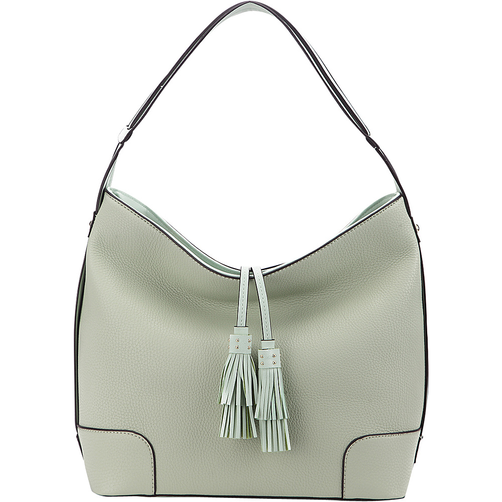 MKF Collection by Mia K. Farrow Tassel Hobo Lime Green - MKF Collection by Mia K. Farrow Manmade Handbags - Handbags, Manmade Handbags