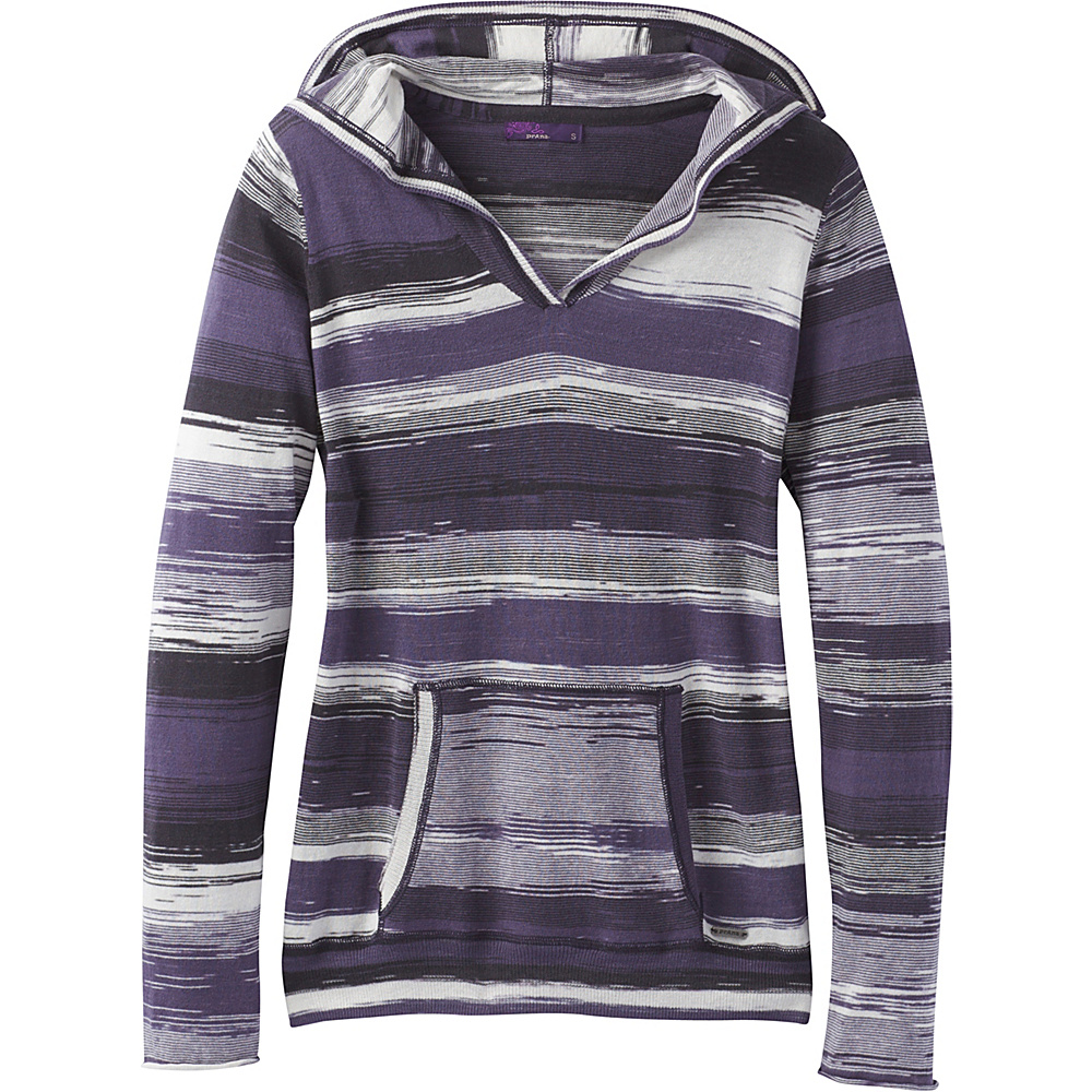 PrAna Daniele Sweater L - Purple Mountain - PrAna Womens Apparel - Apparel & Footwear, Women's Apparel