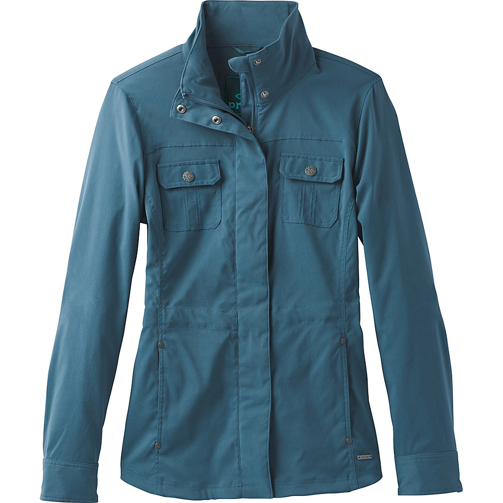 PrAna Halle Jacket S - Mood Indigo - PrAna Womens Apparel - Apparel & Footwear, Women's Apparel