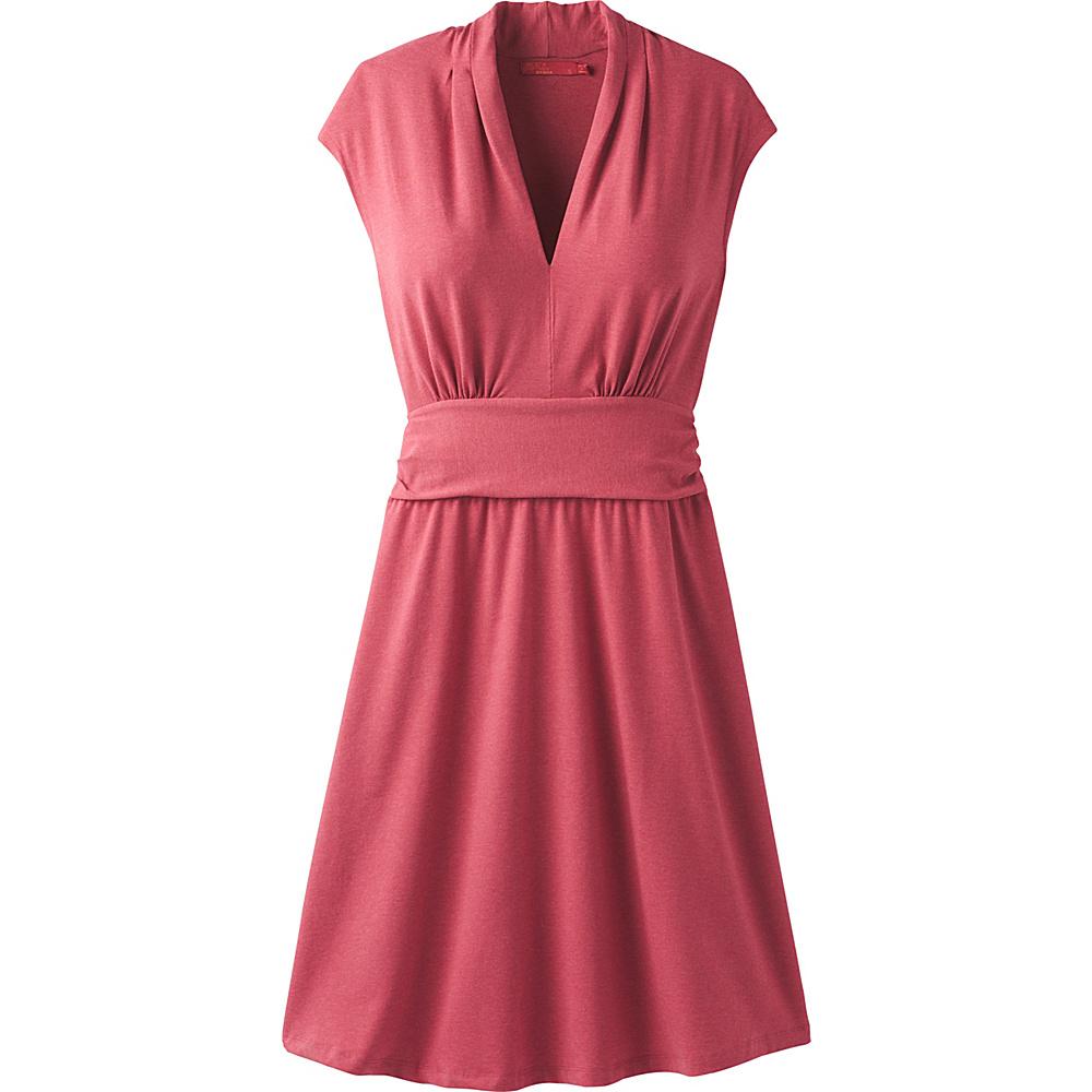 PrAna Berry Dress L - Crushed Cran - PrAna Womens Apparel - Apparel & Footwear, Women's Apparel