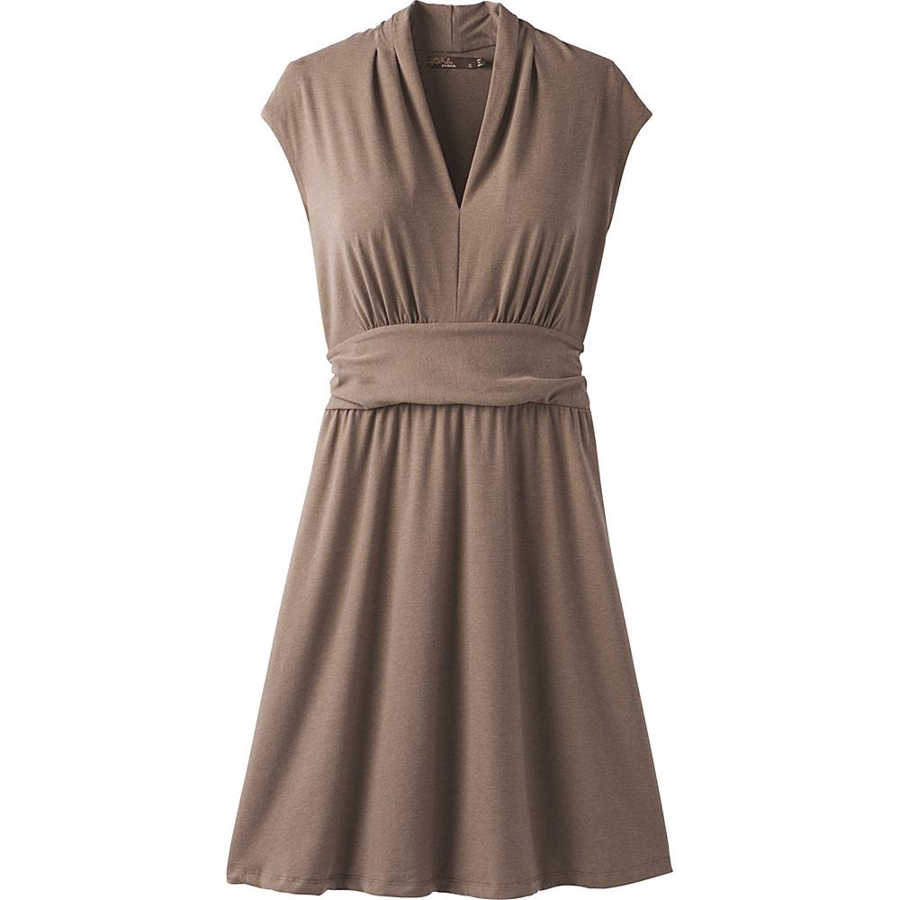PrAna Berry Dress L - Mud - PrAna Womens Apparel - Apparel & Footwear, Women's Apparel