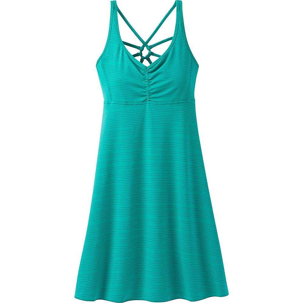 PrAna Dreaming Dress S - Dragonfly Broken Stripe - PrAna Womens Apparel - Apparel & Footwear, Women's Apparel