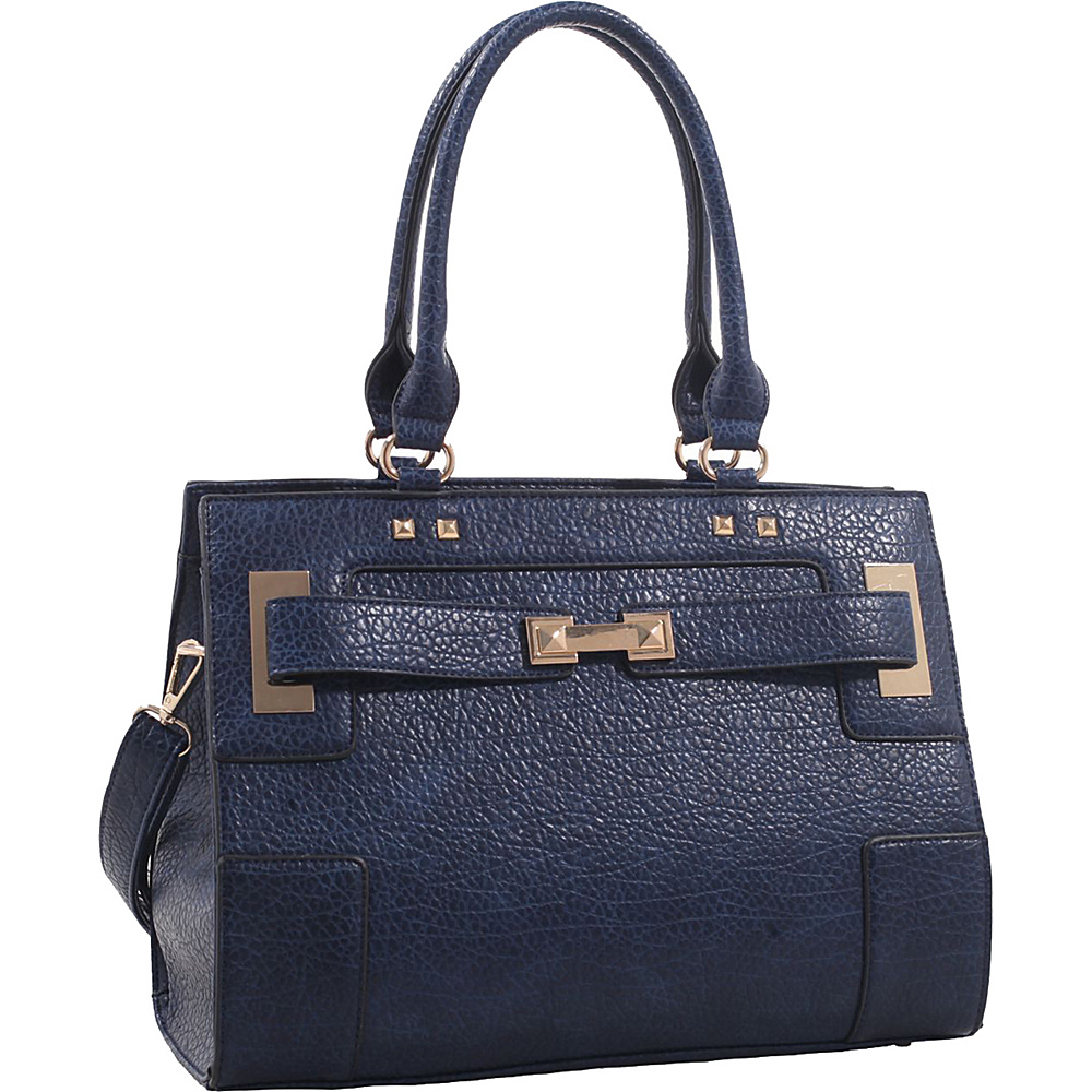 MKF Collection by Mia K. Farrow Lawrence Shoulder Bag Blue - MKF Collection by Mia K. Farrow Manmade Handbags - Handbags, Manmade Handbags