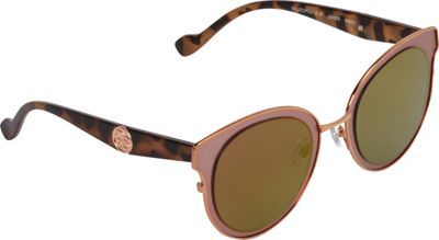 Jessica Simpson Sunwear Oversized Combo Cat Eye Sunglasses Rose Gold Rose - Jessica Simpson Sunwear Eyewear