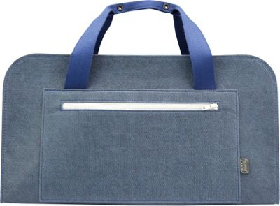 Mad Rabbit Kicking Tiger Ted Weekender Skyscraper Blue - Mad Rabbit Kicking Tiger Kids' Luggage