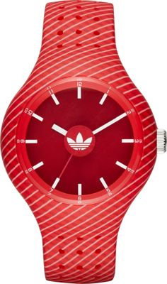 adidas watches Ipswich Three-Hand Watch Red - adidas watches Watches