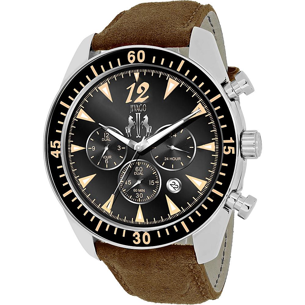 Jivago Watches Men s Timeless Watch Black Jivago Watches Watches
