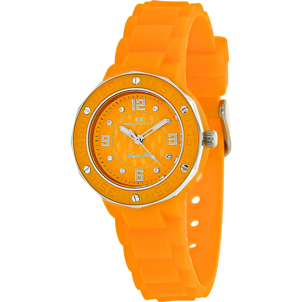 Oceanaut Watches Women s Acqua Star Watch Orange Oceanaut Watches Watches