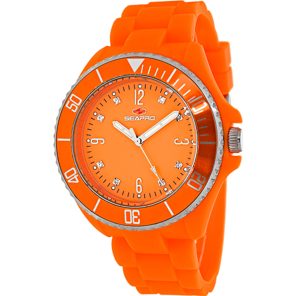 Seapro Watches Women s Sea Bubble Watch Orange Seapro Watches Watches