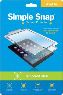 Simple Snap Screen Protector iPad Mini Tempered Glass Transparent - Simple Snap Electronic Accessories