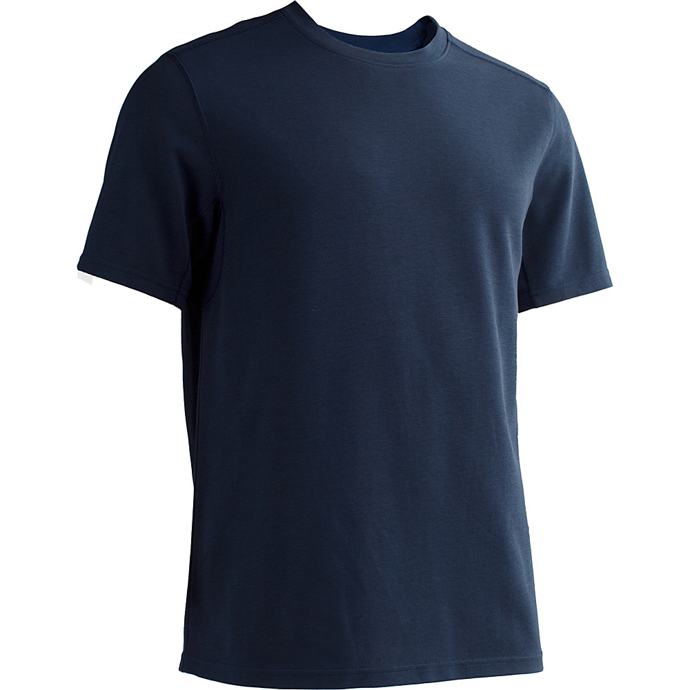 ExOfficio Mens Sol Cool Crew L - Navy - ExOfficio Mens Apparel - Apparel & Footwear, Men's Apparel