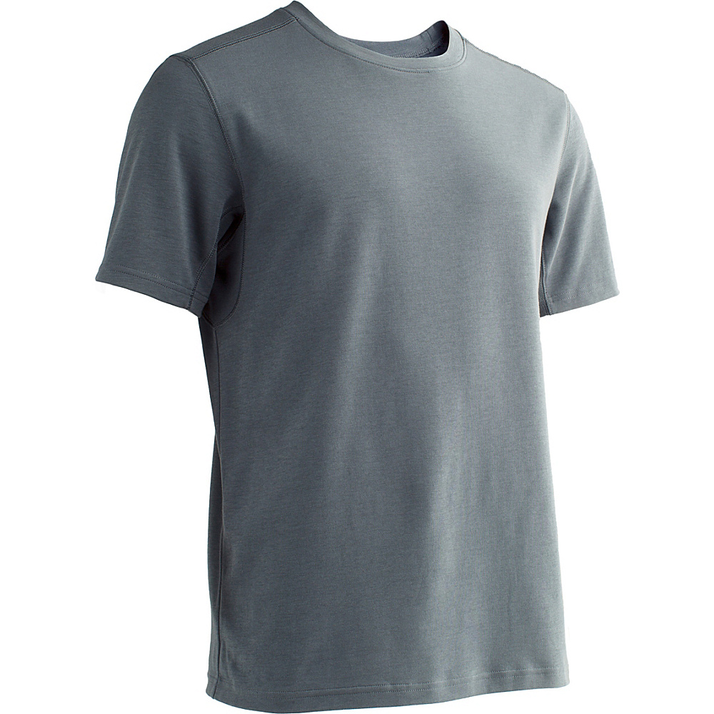 ExOfficio Mens Sol Cool Crew M - Carbon - ExOfficio Mens Apparel - Apparel & Footwear, Men's Apparel