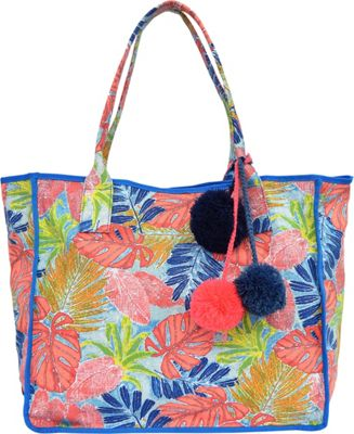 Tommy Bahama Handbags Maui Beach Tote Artsy Leaf - Tommy Bahama Handbags Fabric Handbags