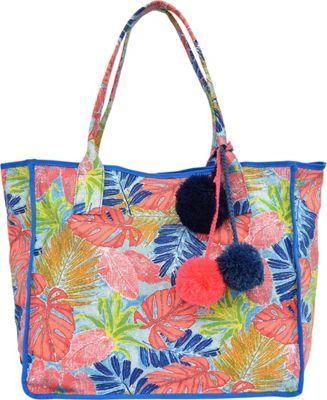 Tommy Bahama Handbags Maui Beach Tote Artsy Leaf - Tommy Bahama Handbags Fabric Handbags