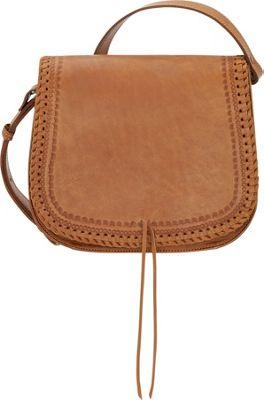 TrueLu The Chloe Crossbody Tan - TrueLu Leather Handbags