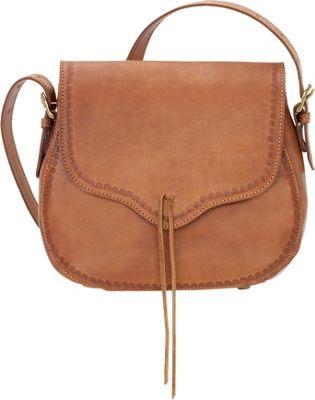TrueLu The Meadow Crossbody Tan - TrueLu Leather Handbags