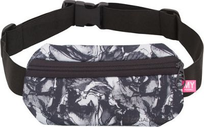 MYTAGALONGS MYTAGALONGS Nouveau Noir Waist Band Black/White - MYTAGALONGS Waist Packs