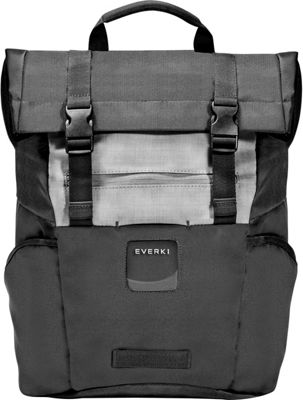 Everki ContemPRO Roll Top 15.6 inch Laptop Backpack Black - Everki Laptop Backpacks