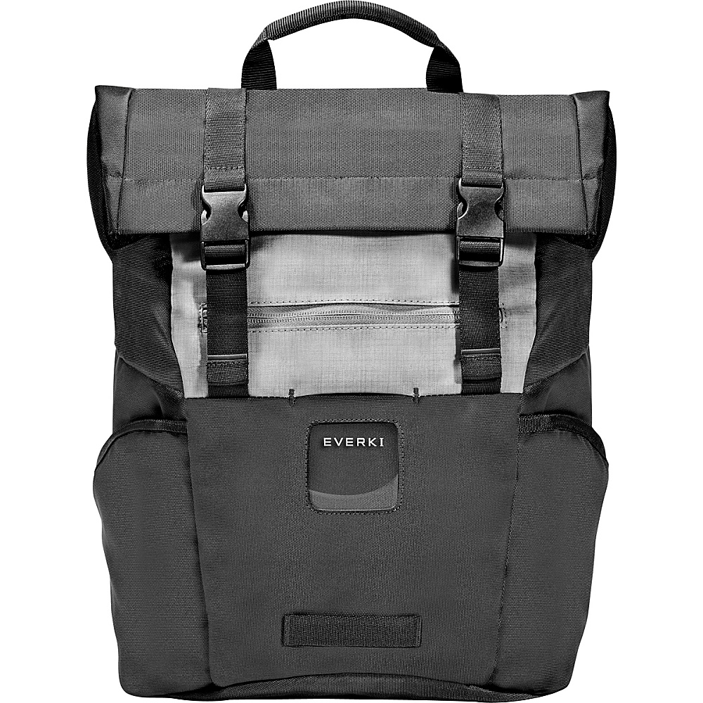 Everki ContemPRO Roll Top 15.6 Laptop Backpack Black Everki Laptop Backpacks