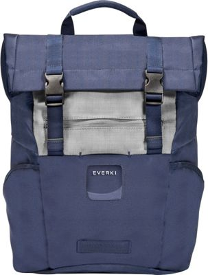 Everki ContemPRO Roll Top 15.6 inch Laptop Backpack Navy - Everki Laptop Backpacks