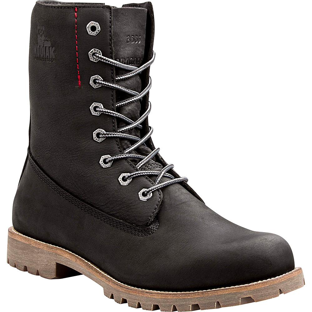 Kodiak Heritage Fleece Boot 8 - Black - Kodiak Mens Footwear - Apparel & Footwear, Men's Footwear