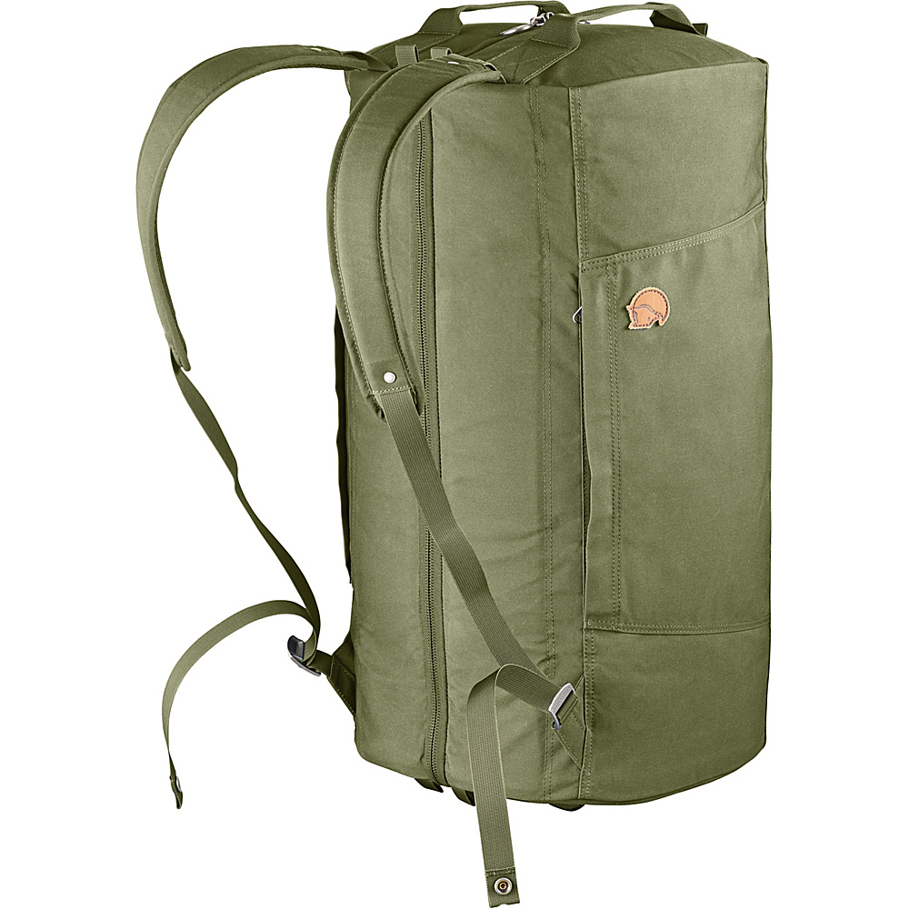 Fjallraven Splitpack Large Duffel Green - Fjallraven Travel Duffels - Duffels, Travel Duffels