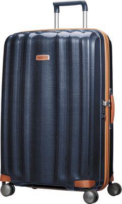 Samsonite Black Label Lite Cube DLX 28 inch Hardside Spinner Midnight Blue - Samsonite Black Label Large Rolling Luggage