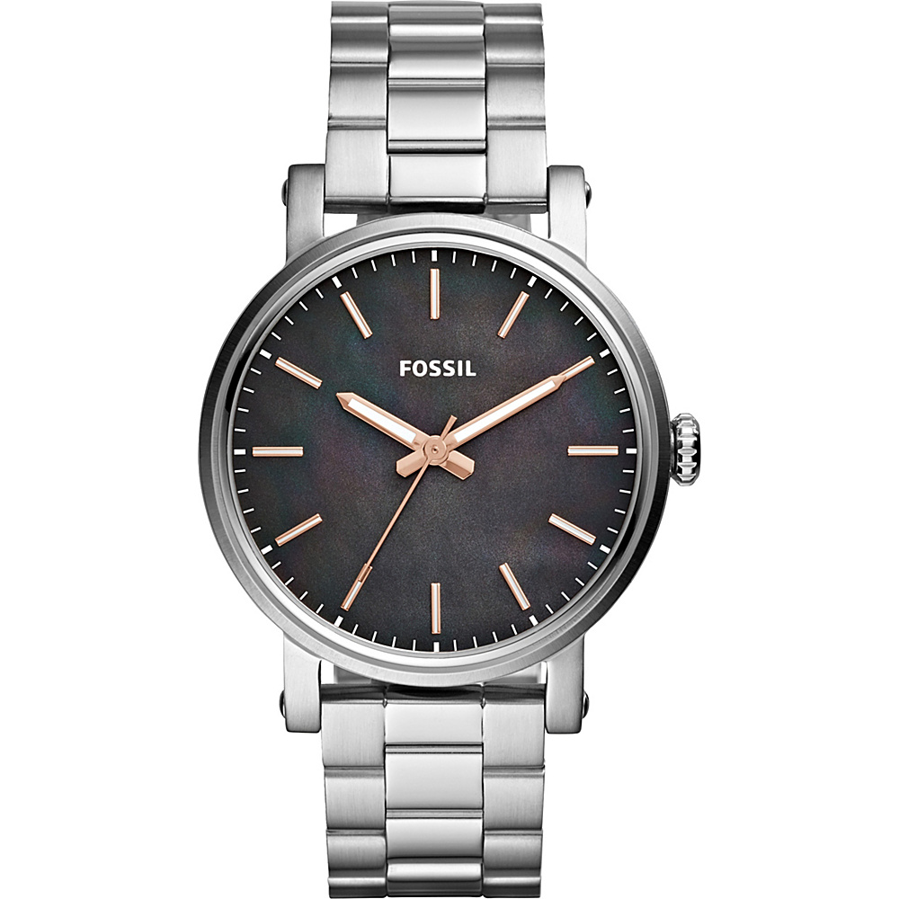 Fossil Original Boyfriend Sport Three-Hand Watch Silver - Fossil Watches - Fashion Accessories, Watches