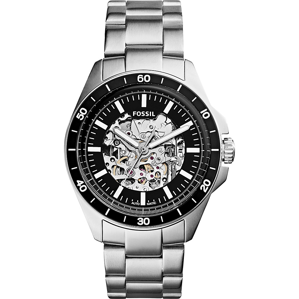 Fossil Sport 54 Automatic Watch Silver - Fossil Watches - Fashion Accessories, Watches