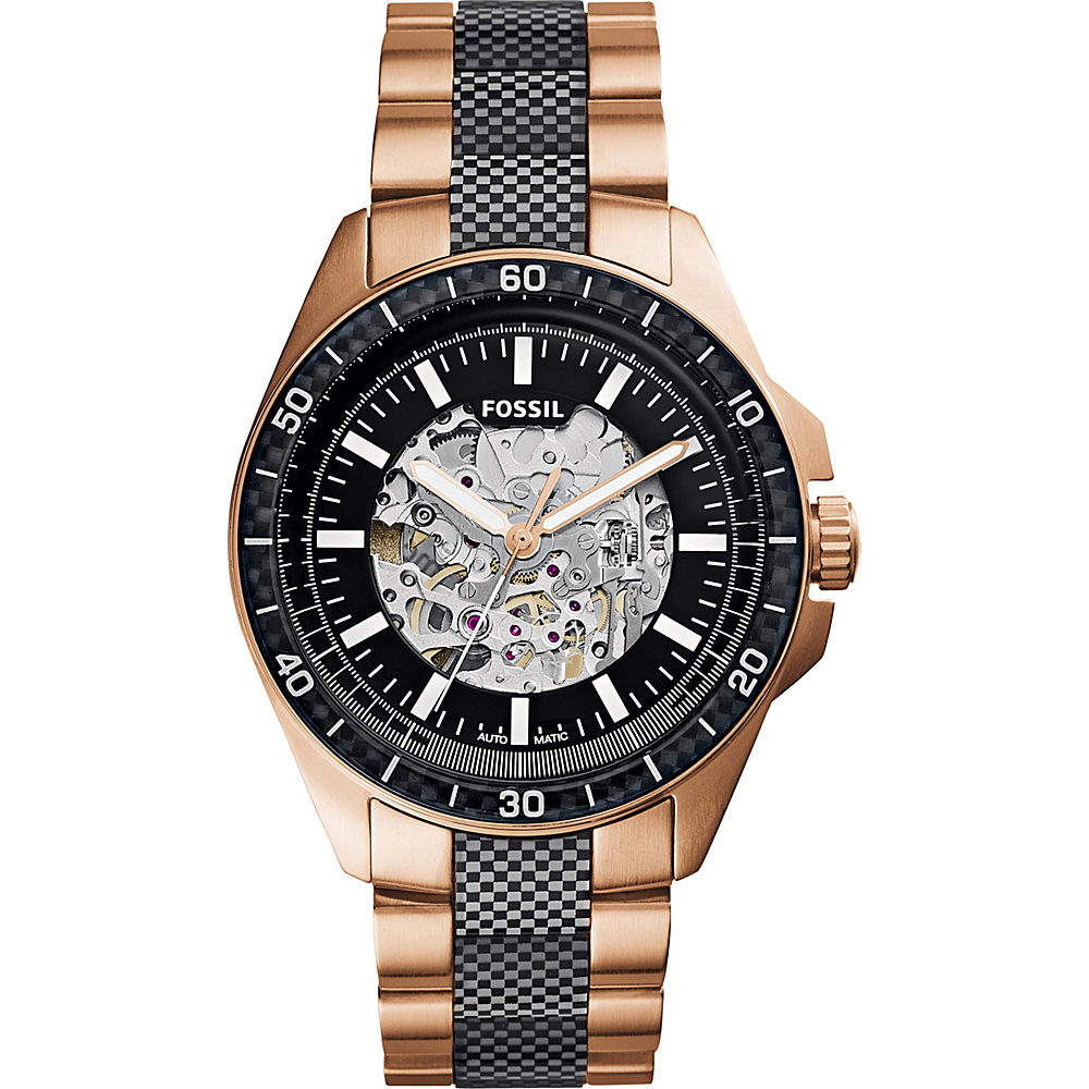 Fossil Sport 54 Automatic Watch Rose Gold - Fossil Watches - Fashion Accessories, Watches