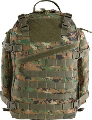 Highland Tactical Backlash Large Tactical Backpack with Hydration Compatibility Green/Digi Camo - Highland Tactical Tactical