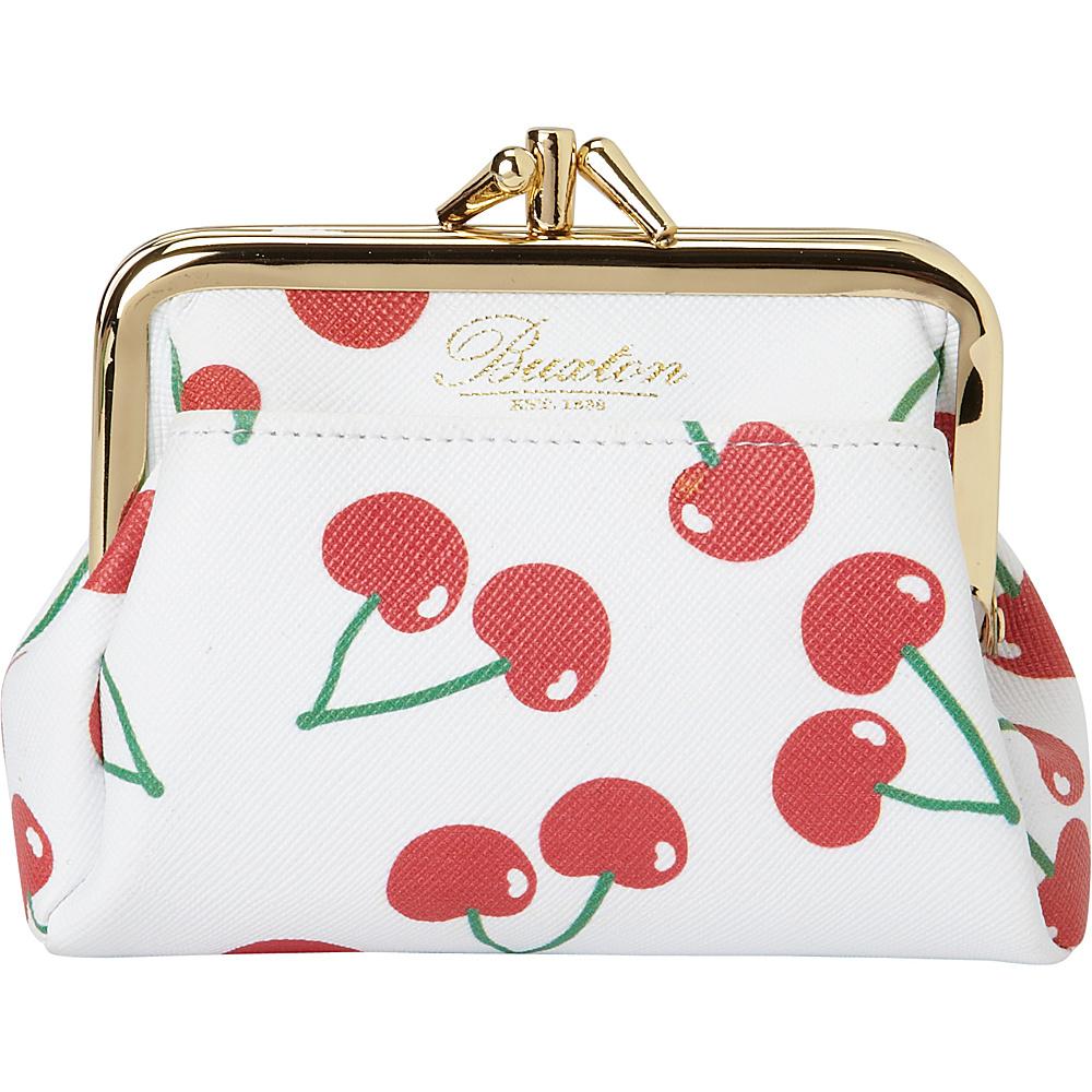 Buxton Fruit Punch Pik-Me-Up Triple Frame Snow White - Buxton Womens Wallets - Women's SLG, Women's Wallets