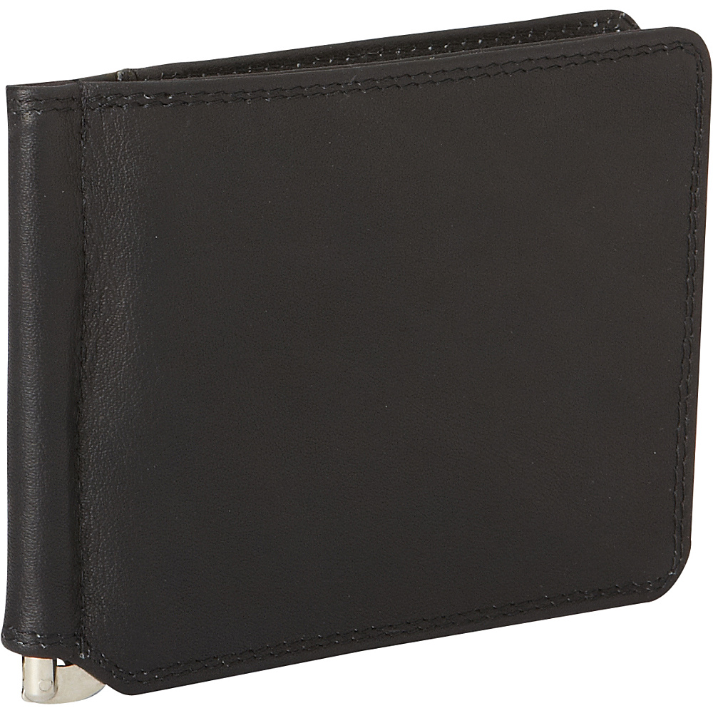 Derek Alexander Bill Clip/Credit Card Black - Derek Alexander Mens Wallets - Work Bags & Briefcases, Men's Wallets