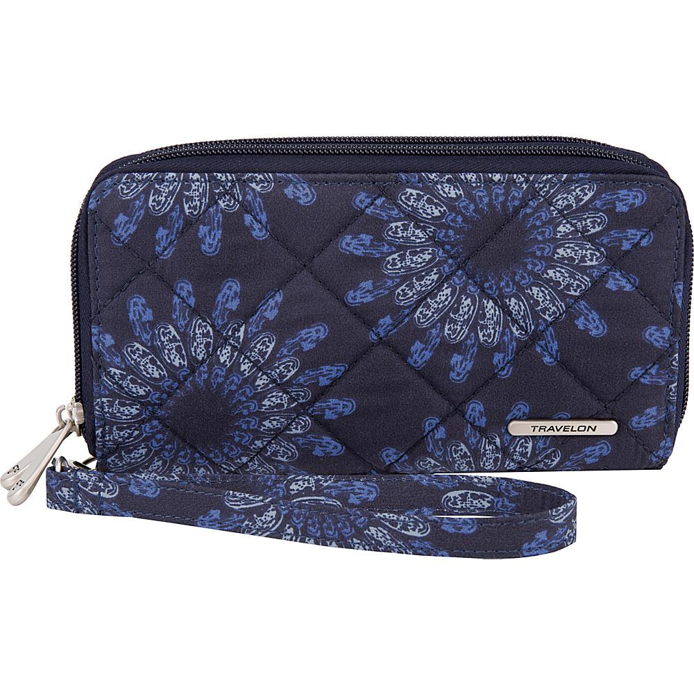 Travelon RFID Boho Ladies Wallet Geo Sunflower - Travelon Womens Wallets - Women's SLG, Women's Wallets