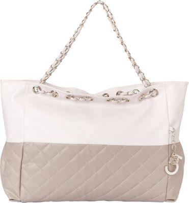 Something Strong Oversized Shoulder Bag Grey - Something Strong Fabric Handbags