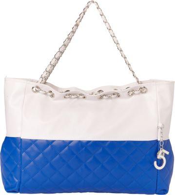 Something Strong Oversized Shoulder Bag Blue - Something Strong Fabric Handbags