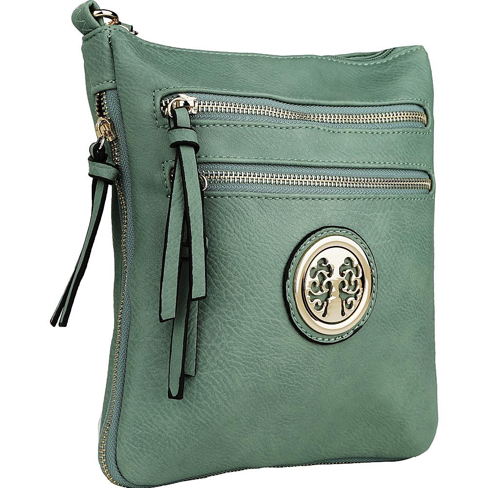 MKF Collection by Mia K. Farrow Roneeda Expandable Crossbody Seafoam - MKF Collection by Mia K. Farrow Manmade Handbags - Handbags, Manmade Handbags