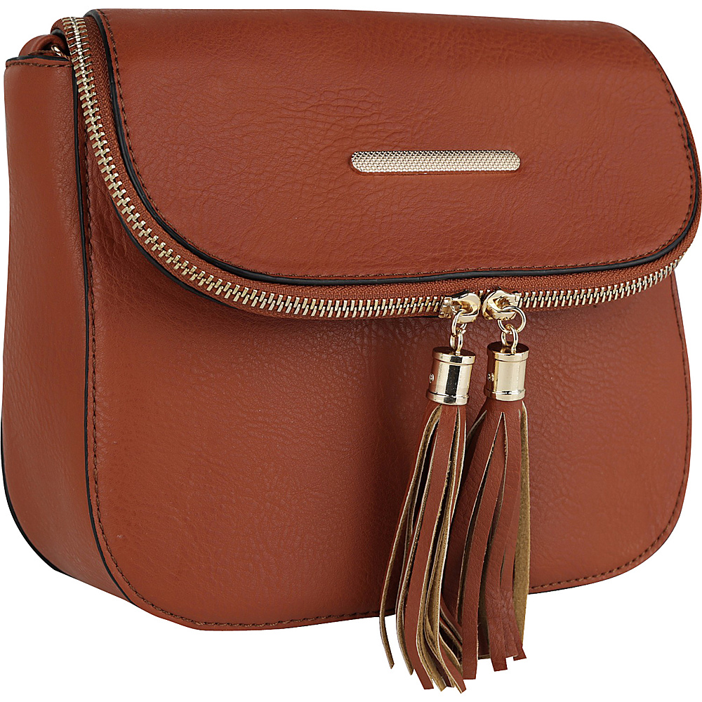 MKF Collection Cici Crossbody Brown - MKF Collection Manmade Handbags - Handbags, Manmade Handbags