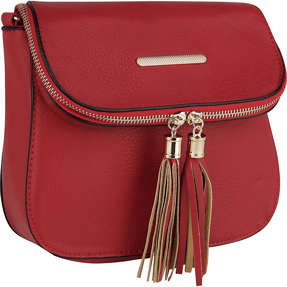 MKF Collection Cici Crossbody Red - MKF Collection Manmade Handbags - Handbags, Manmade Handbags