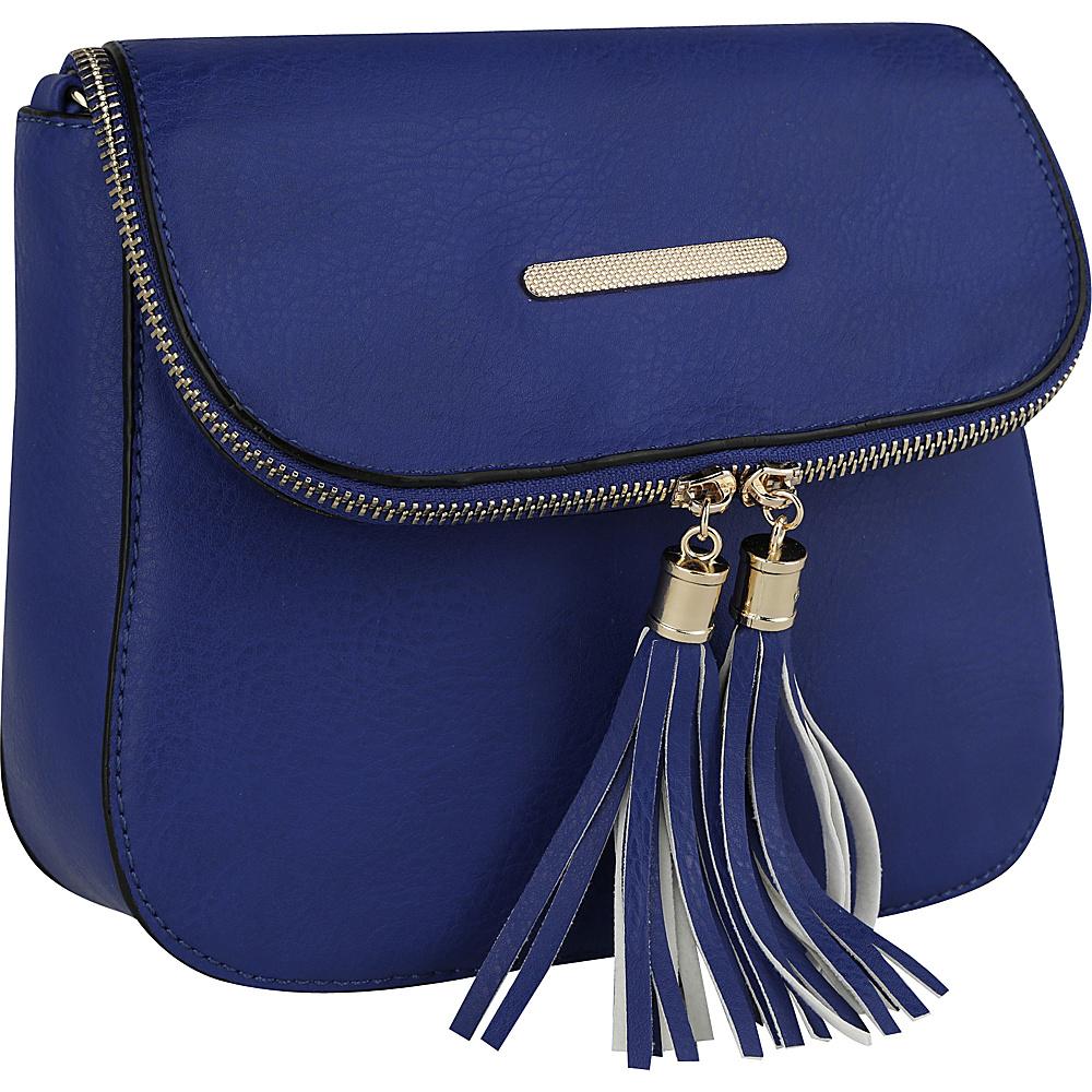 MKF Collection by Mia K. Farrow Cici Crossbody Royal Blue - MKF Collection by Mia K. Farrow Manmade Handbags - Handbags, Manmade Handbags
